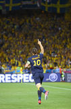 Zlatan Ibrahimovic of Sweden Royalty Free Stock Photography