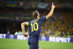 Zlatan Ibrahimovic of Sweden Stock Photography