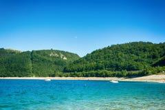 Zlatar湖在塞尔维亚 免版税图库摄影