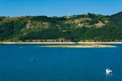 Zlatar湖在塞尔维亚 库存照片