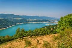 Zlatar湖在塞尔维亚 库存图片