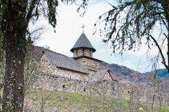 Uvaz修道院 免版税库存照片