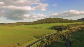 Zlatibor Halny Serbia, krajobrazowa antena zbiory