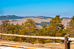 Zlatibor hills Royalty Free Stock Photo