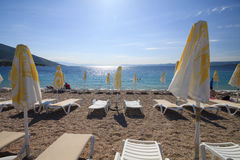 Zlatni Rat beach Royalty Free Stock Images