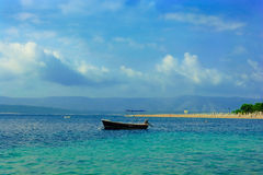 Zlatni Rat beach - Bol, Croatia Royalty Free Stock Images
