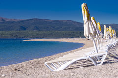 Zlatni tjaller, Bol, ön av Brac, Kroatien, Dalmatia Arkivbild