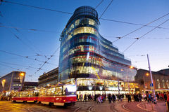 Zlaty Andel district, Smichov, Prague, Czech republic Royalty Free Stock Photography