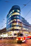 Zlaty Andel district, Smichov, Prague, Czech republic Stock Photo