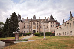 zleby城堡的捷克共和国 免版税库存照片