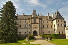 zleby的城堡 免版税库存照片