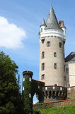 Zleby castle Stock Photo