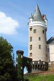Zleby castle Stock Photo