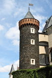 Zleby castle Royalty Free Stock Images