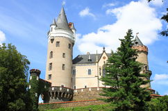 Zleby castle Royalty Free Stock Photography