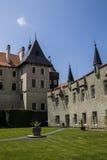 Zleby slott och torn arkivfoton