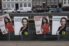�zlem Sara Cekic_kurd-danish cadidate for SF. COPENHAGEN/DENMARK. 08 jUNE 2015  Ms.�zlem Sara Cekic kuds orgins kuds-danish member of danish parliament for Stock Photos