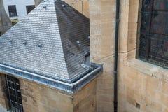 Zlew rynna dach zdjęcie stock