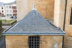 Zlew rynna dach fotografia stock