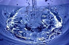 zlew spash wody Zdjęcia Royalty Free