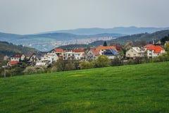 Zlin en República Checa Fotografía de archivo