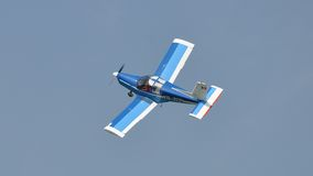 Zlin 142 flygplan Royaltyfri Foto