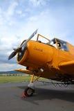 Zlin Z-37 Cmelak飞机 库存图片