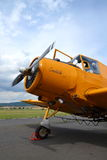 Zlin Z-37 Cmelak airplane Stock Image