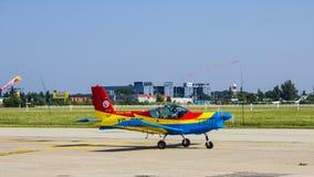 Zlin Z-142 YR-ZCF Fotografia de Stock