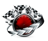 Zlotny Emblemat Zdjęcie Royalty Free