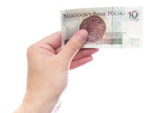 10 zloty (backside version) Royalty Free Stock Photos