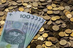 Zloty Royalty Free Stock Photos