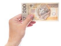 200 zloty Stock Photos
