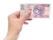 20 zloty Stock Photo