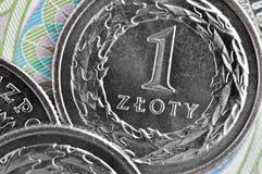 Zloty polacca Immagini Stock