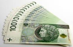 Zloty polonês Foto de Stock Royalty Free