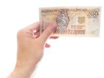 200 zloty (versione della parte) Immagine Stock Libera da Diritti