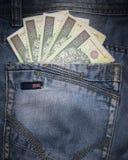 Zlotys del denaro per piccole spese Fotografia Stock Libera da Diritti