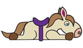 Zmęczony Zabawkarski koń Obrazy Stock