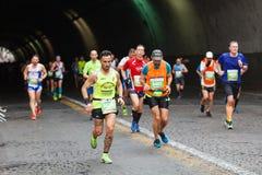 Zmęczenie maraton atleta Fotografia Royalty Free