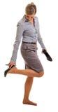 zmęczona nogi kobieta Obrazy Royalty Free
