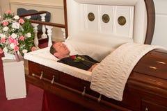 Zmarły mężczyzna Obraz Royalty Free
