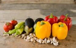 Zmarniali warzywa Zdjęcie Stock