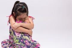 Zmartwienia dziecka, zmartwienia dziecka tło/ Fotografia Stock