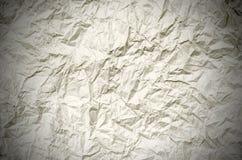 Zmięty brown papier od pakunku jako tło tekstura Zdjęcie Royalty Free