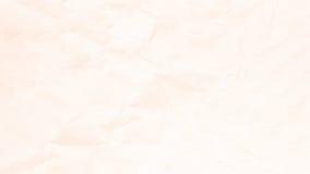 Zmięty jasnobrązowy papierowy tekstury tło dla projekta Obrazy Stock