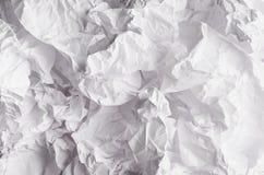 Zmięty marszczący falisty siwieje papierową teksturę, abstrakcjonistyczny wieloboka tło Obraz Stock