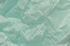 Zmięty papierowy tekstury tło, Obrazy Stock