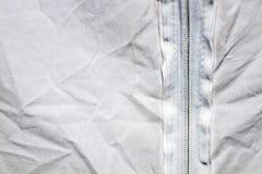 Zmięty tekstylny tło Zdjęcia Royalty Free