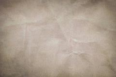 zmięta papierowa tekstura Zdjęcia Stock